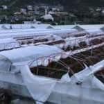 Antalya'da şiddetli rüzgar seralarda zarara neden oldu