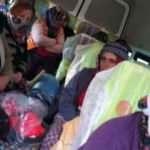 Jandarmayı şaşırtan görüntü! Minibüsten 23 işçi çıktı