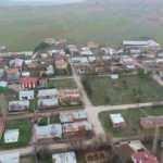 Karantinaya alınan köy sessizliğe büründü
