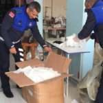 Kocaeli'de 11 bin adet kaçak maske ele geçirildi