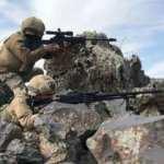 MSB duyurdu: Taciz ateşi açan teröristler öldürüldü