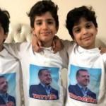 Recep Tayyip Erdoğan isimli üçüzlerden Cumhurbaşkanı Erdoğan'a koronavirüs mesajı