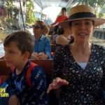Tayland'ın yüzen pazarkarı Dünyayı Geziyorum'da