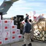 5 ülkeye yardım götüren uçak Ankara'dan havalandı