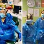 Ekipman olmadığı için çöp poşeti giyen 3 İngiliz hemşire, corona virüse yakalandı