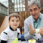 Necati Şaşmaz'ın oğlu babasına olan benzerliğiyle dikkat çekti