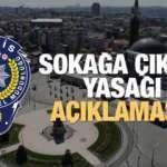 23 Nisan'da sokağa çıkma yasağı ilan edilecek mi? EGM tarafında beklenen cevap!
