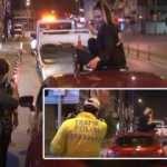 İzmir'de pes dedirten olay! Polislere zor anlar yaşattılar