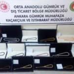 Ankara'da bir milyon lira değerinde tespih ve doğal taş ele geçirildi