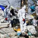 Malatya'da bir evden 8 kamyon çöp çıktı