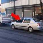Polis görünce şaşkına döndü! Kortej eşliğinde götürüldü