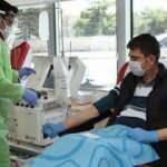 Polis memuru virüsü yenip, plazma bağışında bulundu