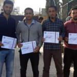 Suriyeli öğrencilerden anlamlı bağış
