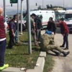 Bolu'da, askeri ambulans otomobille çarpıştı: 5 yaralı