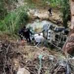 Dere yatağına uçan beton mikserinin sürücüsü öldü