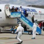 Karadağ'dan 148 Türk vatandaşı Bingöl'e getirildi