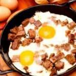 Kavurmalı yumurta nasıl yapılır?