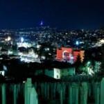Saraybosna'nın sembollerinden Vijecnica'nın Türk bayrağının renklerine büründü