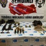 Şemdinli'de, PKK'ya ait silah ve mühimmat ele geçirildi