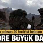Sızma girişiminde bulunan 20 terörist etkisiz hale getirildi