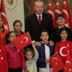 Başkan Erdoğan ulusa seslendi, İstiklal Marşı'nı okudu