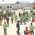 8 bin işçi aralıksız çalışıyor