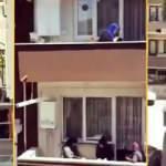 Balkondan balkona mukabele