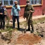 Barış Pınarı bölgesinde içme suyu ve ağaçlandırma faaliyetleri sürüyor