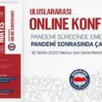 Memur-Sen'den 1 Mayıs için online konferans!