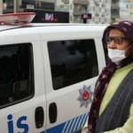 Sokakta yakalanan yaşlı kadın meğer evden atılmış
