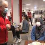 Türk Kızılay Başkanı Kınık, sağlık çalışanlarına iftarda eşlik etti