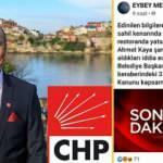 Alkol tutkunu CHP'li başkan ramazanda da ulu orta içince başına iş aldı