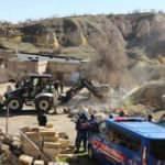 Bakan Kurum duyurdu: Hepsi yıkıldı