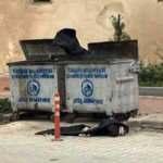 Cami önüne bırakılan ceset torbaları paniğe neden oldu