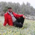 Erzurum'da mayıs ayında lapa lapa kar yağdı