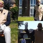 100 yaşındaki Müslüman amca oruçlu haliyle İngiltere'de Kovid-19 bağışı topluyor