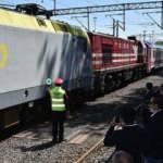 Marmaray'dan geçen ilk yurt içi treni Tekirdağ'a ulaştı