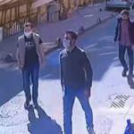Maskeli magandalar iki işletmeciyi tekme tokat dövdü