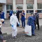 Nevşehir'de 40 günlük Ayşegül bebek ve annesi koronavirüsü yendi
