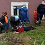 Tekirdağ'da 4. kattan düşen kadın yaralandı