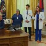 Trump, bu kez de koruyucu ekipman eksikliğine dikkat çeken hemşireyle atıştı