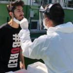 Giresunspor'da bir kişinin testi pozitif çıktı