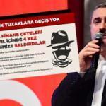 Bayram Şenocak: Ekonomik tuzaklara geçiş yok