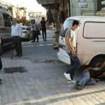 Afrika sıcağından etkilenen yaşlı adam yolda bayıldı
