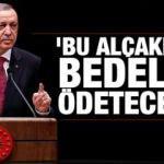 Cumhurbaşkanı Erdoğan'dan PKK'nın alçak saldırısına tepki