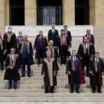 Danıştay Başkanı Zeki Yiğit ve beraberindeki heyet Anıtkabir'i ziyaret etti