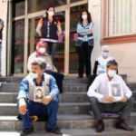 Evlat nöbetindeki babadan dikkat çeken sözler: HDP'li Beştaş arka kapıdan kaçtı