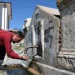 İlçe halkı sularını 2 bin yıllık çeşmeden içiyor