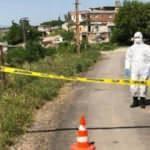 Kilis'te bir mezra karantinaya alındı