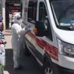 Konya'da ilginç anlar: Ekipler dakikalarca uğraştı